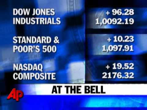 Oct. 19: Stocks Rise on Strong Earnings