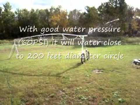 Center Pivot Garden Irrigator Youtube