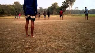 Football  খেলার দৃশ্য।  ২০১৬