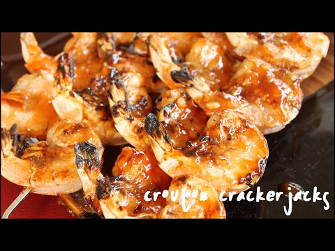 honey ginger barbecue honey ginger shrimp skewers grilled corn