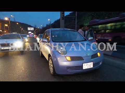 Շղթայական ավտովթարներ Մյասնիկյան պողոտայում. մի քանի մետր հեռավորության վրա տեղի է ունեցել 3 վթար