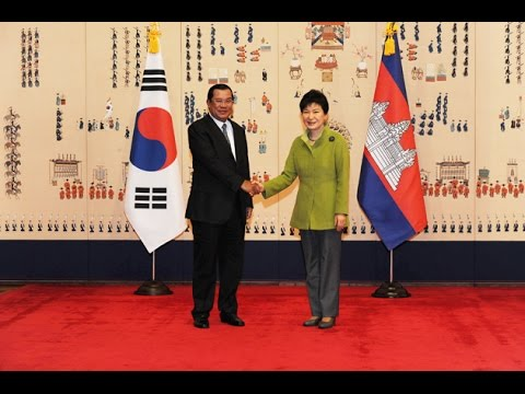 13 December 2014 Samdech Hun Sen with Korea's President