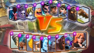 ¿¡ LEGENDARIAS vs ESPECIALES !? DUELO DE CARTAS - CLASH ROYALE CON ANIKILO w/ Mr.Invictus