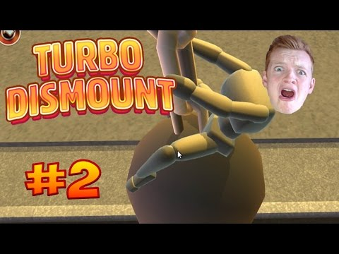 I CAME IN LIKE A WRECKING BALL! | Turbo Dismount #2