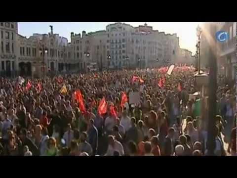 Las calles de 80 ciudades españolas, un clamor de miles de personas en respuesta a los recortes