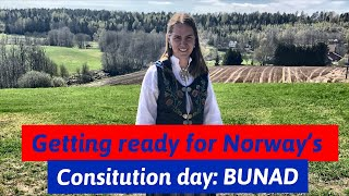 Getting ready for constitution day in Norway!