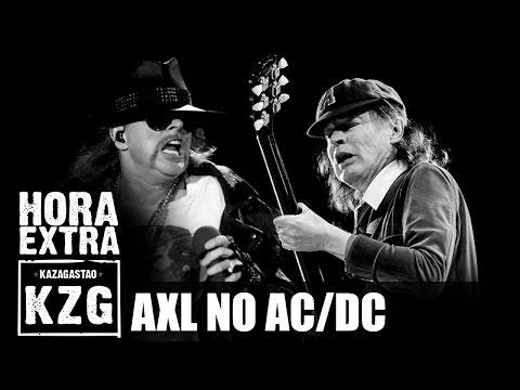 Axl Rose no AC/DC!