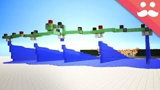 Making FLYING WATER MACHINES in Minecraft! [Snapshot!]