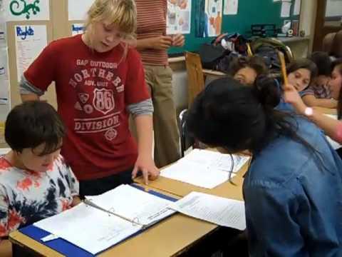 Visite à la classe de 5eS au Green Street School  le 25 sept. 2012