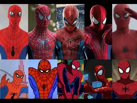Spider-Man - Evolution in cinema & TV