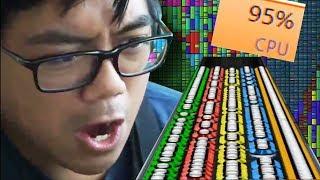 THE NOTES WON'T EVEN LOAD // Black MIDI on Clone Hero