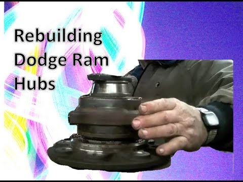Dodge Ram Front Bearing Assembly Rebuild