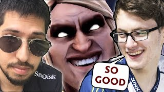 Reason Liquid chose w33 — one of BEST INVOKERS, 1000 APM SKILL