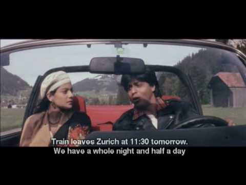 DDLJ: Raj and Simran on the Road (English subtitles)