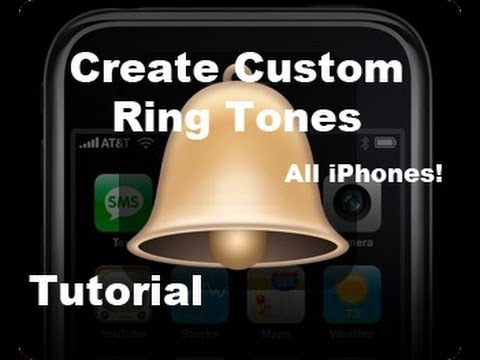 Tutorial: How To Make FREE Custom RingTones For iPhone 4s & 4   Music/Songs from iTunes 10   3gs 3g