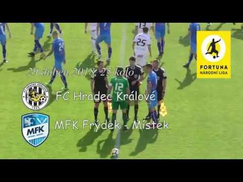 Sestřih utkání FC Hradec Králové - MFK Frýdek-Místek 4:0