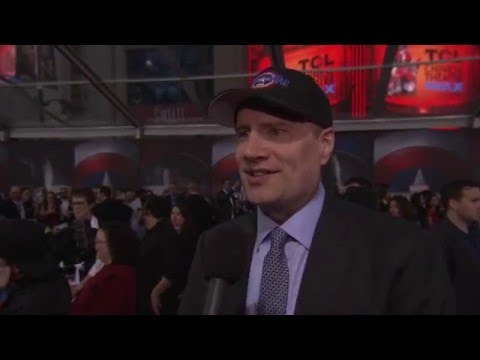 Captain America: Civil War: Producer Kevin Feige Official Premiere Interview