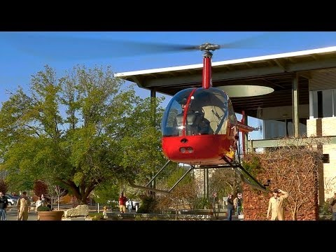 Yavapai College Career Fair - Helicopter Fly In 2014