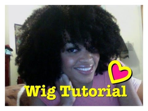 DIY: Kinky Curly Wig Tutorial