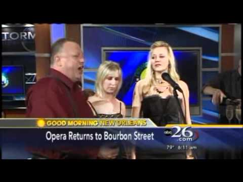 "Bon Operatit! Appearance on ABC 26's ""Good Morning New Orleans"" Show"