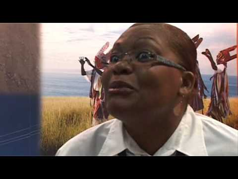 Ernestine Cassell, Director Tourism, Montseeat @ ITB Berlin 2011
