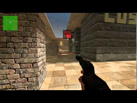COUNTER STRIKE SOURCE:  1 VS 1  AIM HALO/ 2000 LOS CANTEROS