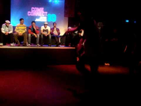 1e Ronde Come Correct Kidsbattle Levi&melvin(rechts) Vs. Floor & Cas(links) video