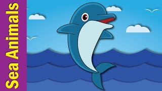 Under The Sea #3 | Marine and Sea Animals Song for Kids | Nursery Rhymes for kids | Fun Kids English