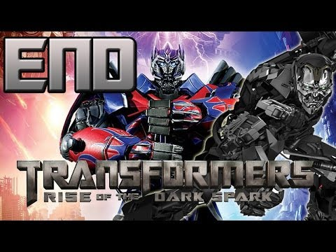 Transformers Rise Of The Dark Spark Walkthrough - Ending - Final Boss Lockdown! video