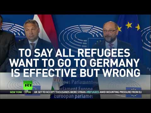 Migrant crisis 'Germany's problem not EU's' - Hungary PM