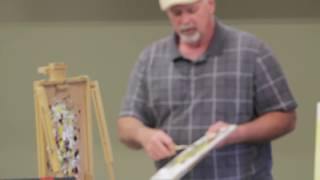 Frank Baggett Landscape Oil Painting Demo
