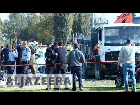 Truck attack kills 4 Israeli soldiers in East Jerusalem