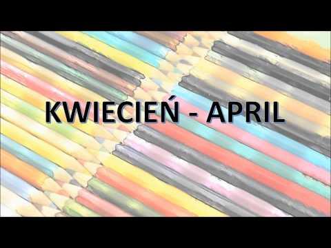 Pokoloruj Świat. Nauka Angielskiego Dla Dzieci - Miesiące
