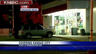 Robbers, Clerk Trade Fire In Gas Station Robbery Attempt