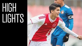 Highlights Ajax O17 - Feyenoord O17