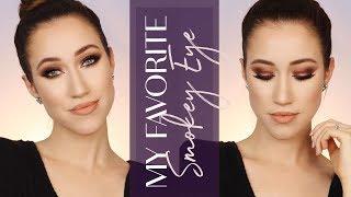 My FAVORITE Smokey Eye Makeup Tutorial | ALLIE GLINES