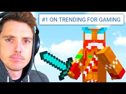 can we get minecraft  #1 TRENDING