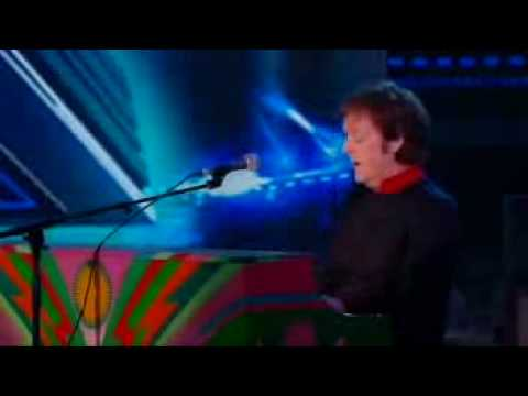 Sir Paul McCartney - Drive My Car & Live and Let Die on The X Factor Final 2009