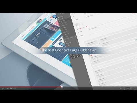 Introducing the best Layout Builder for Opencart 2.0