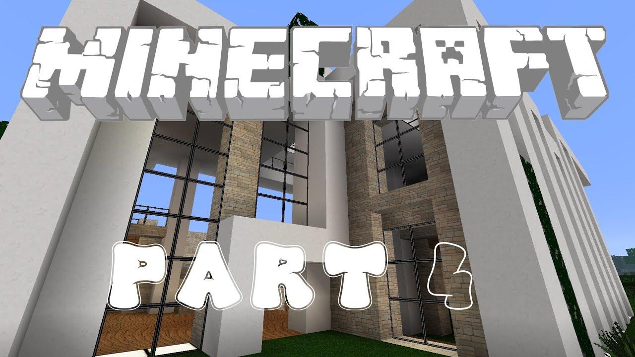 Einzigartig Minecraft Modernes Haus Bauplan Design