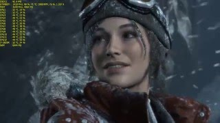 Rise of the Tomb Raider | 1080P 165HZ G-SYNC | MSI GTX 980 Ti LIGHTNING | MAX SETTINGS | XB271HU