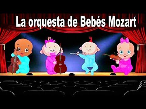 La Orquesta de Bebés Mozart - Música Clásica para Dormir Bebés - Relajación y sueño profundo #