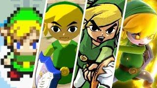 Evolution of Toon Link (2002 - 2018)