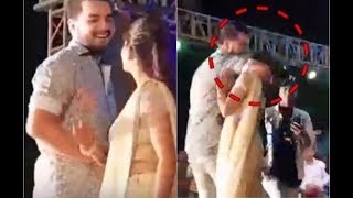 Sapna Choudhary Kissing Video Viral On KISS DAY