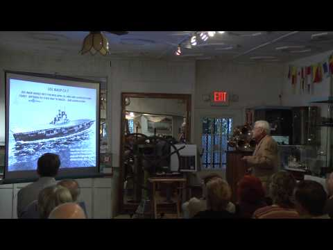 April 11, 2013 History Lecture: WWII Operation Pedestal with Laurence Shallenberger