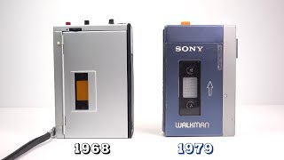 Sony's proto-Walkman that went to the moon*