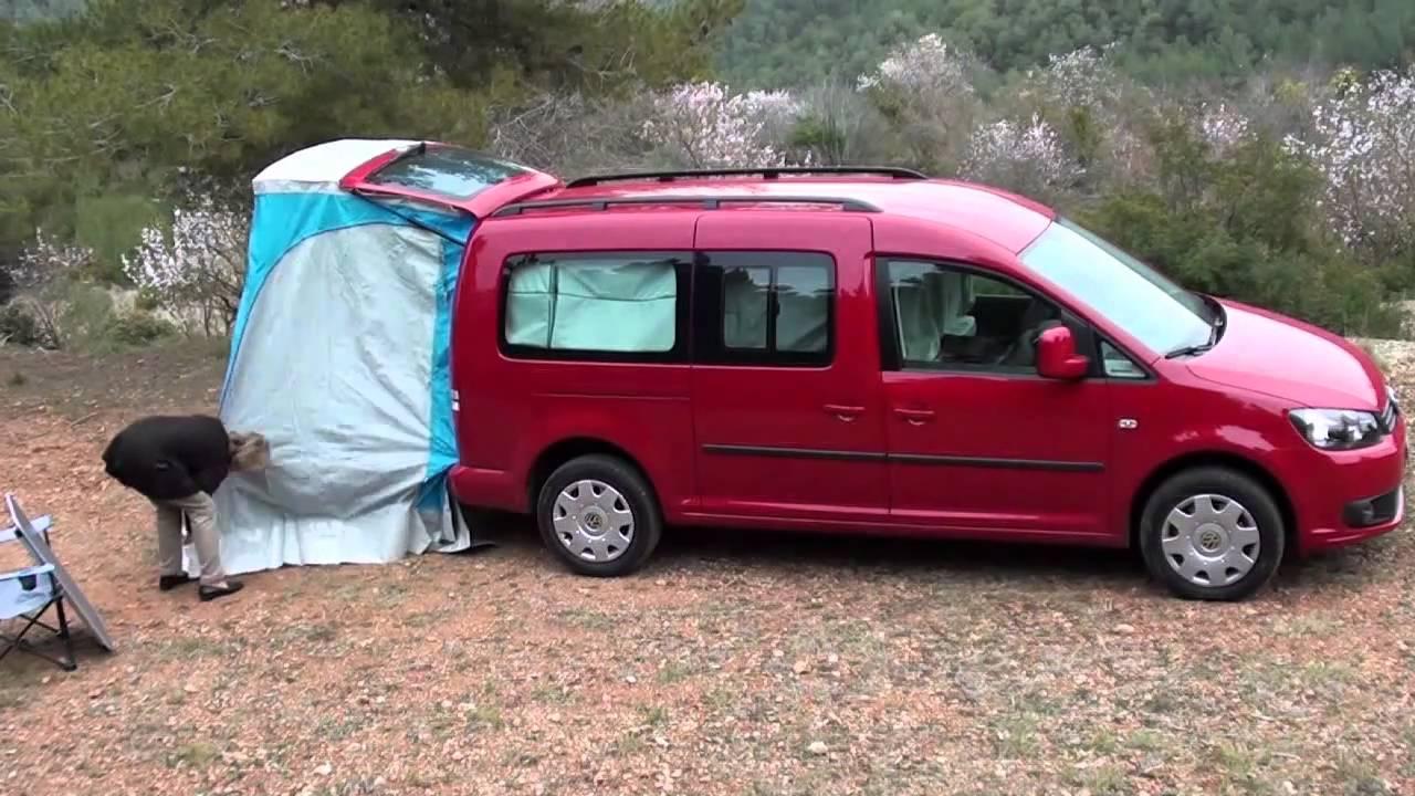 Volkswagen Caddy Maxi Tramper Youtube
