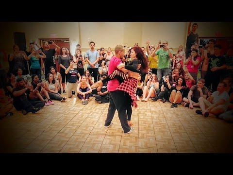 Sensational Dance! Kadu Pires & Larissa Thayane - Latest Movements Workshop - 2016 DC Zouk Festival