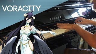 OVERLORD III OP FULL | MYTH&ROID - VORACITY Piano Cover