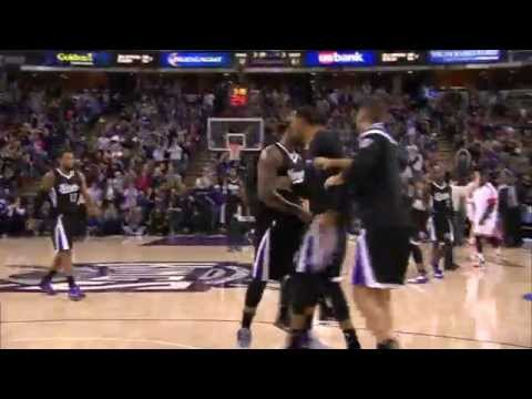 DeMarcus Cousins' Bullet Pass Threads the Needle to McLemore